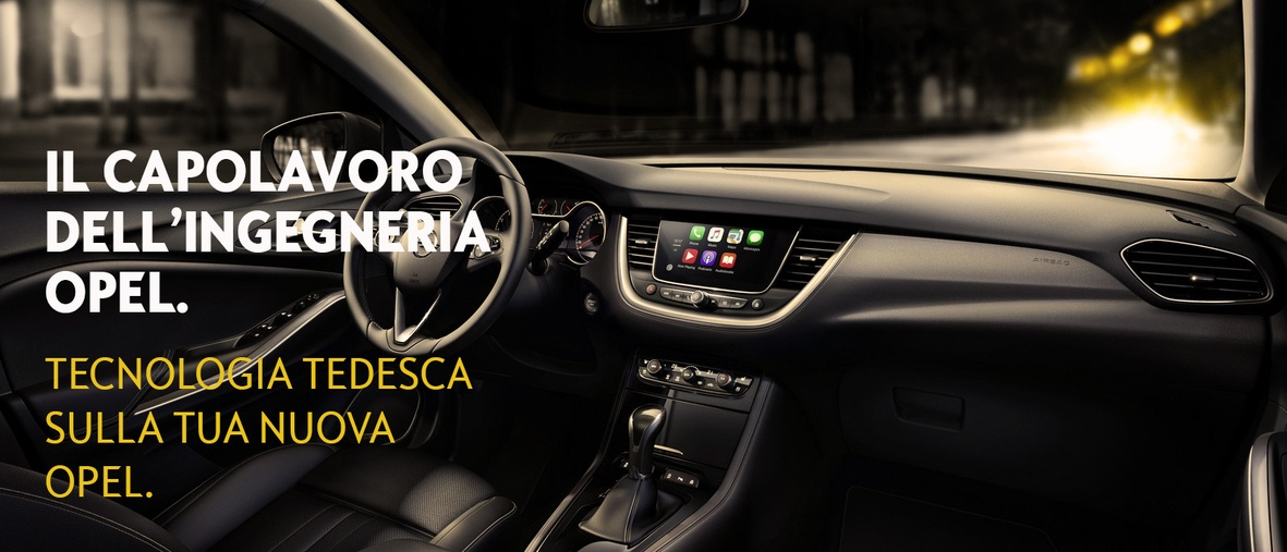 Tecnologia tedesca sulla tua nuova Opel!