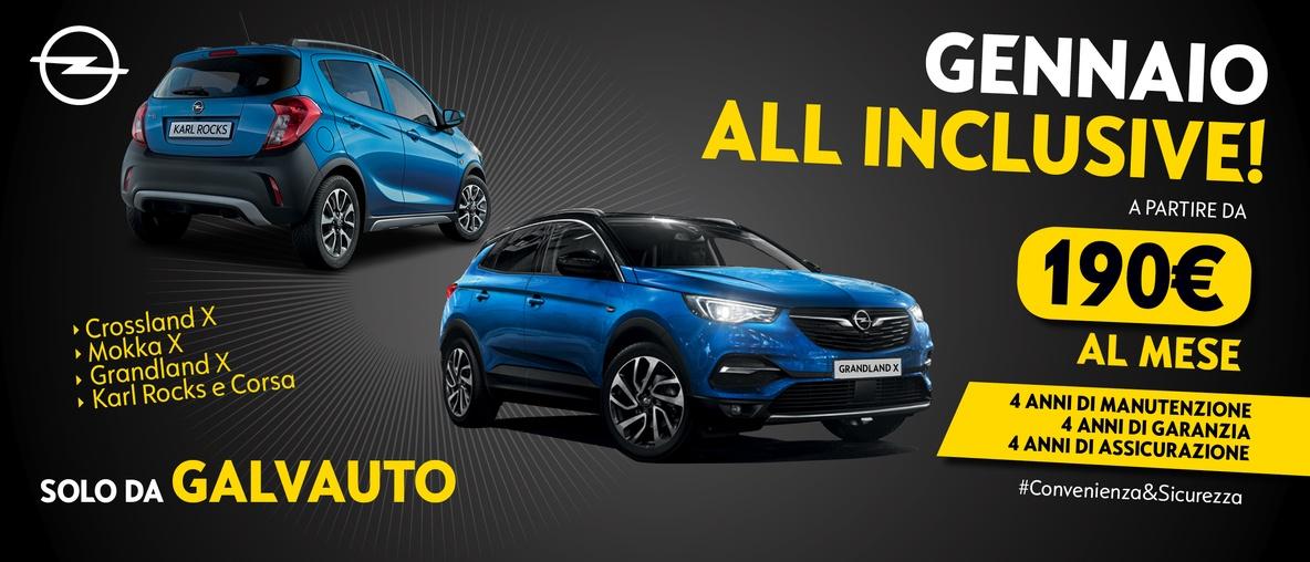Opel Galvauto All inclusive