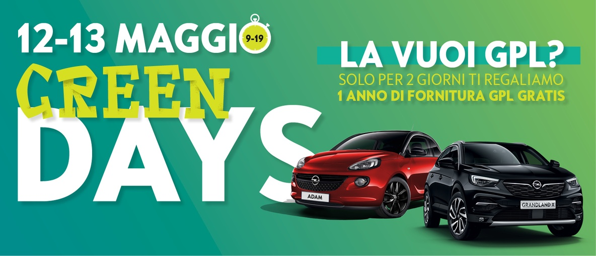 Opel Autentika Brescia green days
