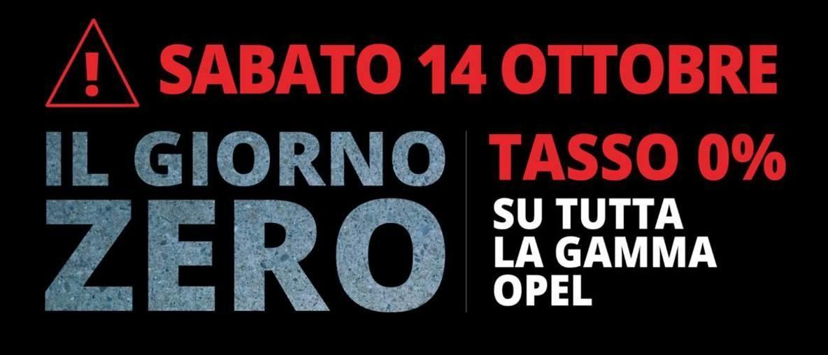 Opel Autentika Brescia giorno zero
