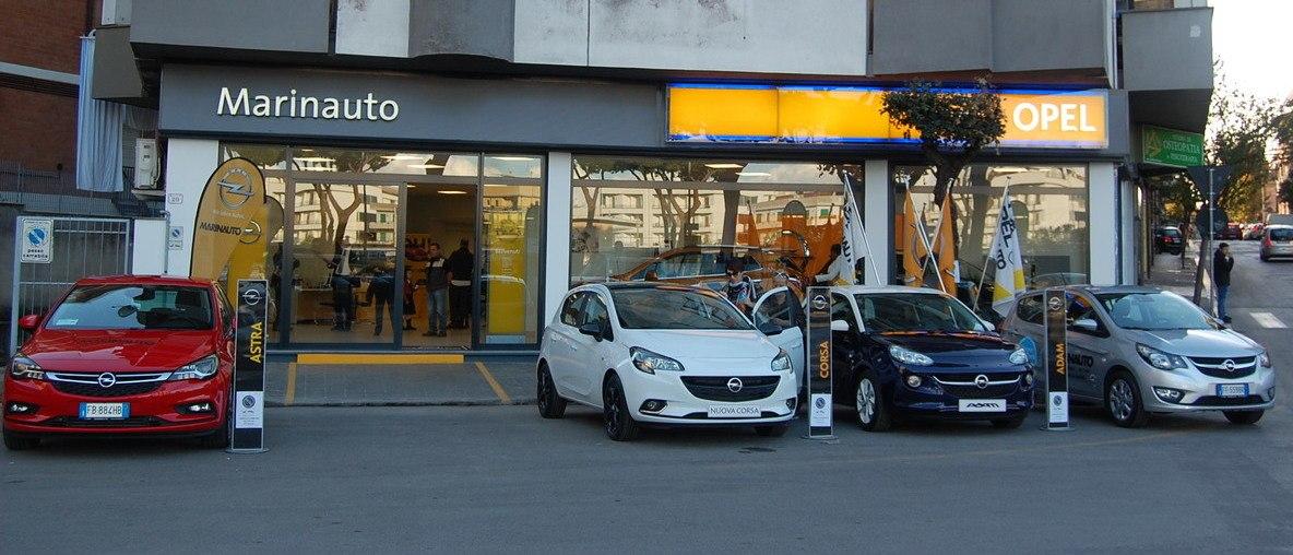 Opel Marinauto staff