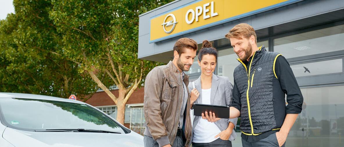 Noleggio concessionaria Opel Alessi e Messina