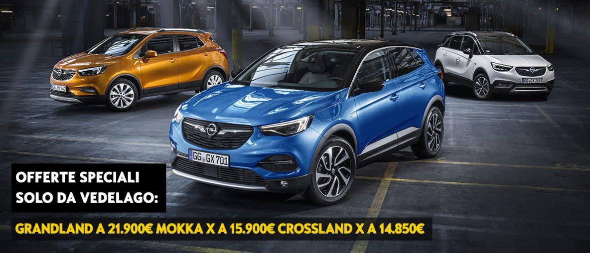 Opel Suv X, Vedelago