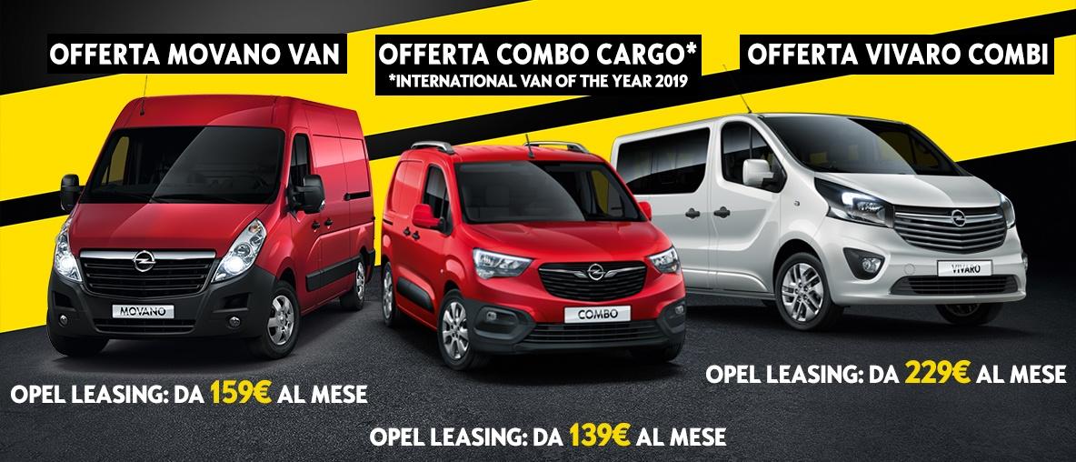 Offerta Veicoli Commerciali - Opel Vedelago, Torino