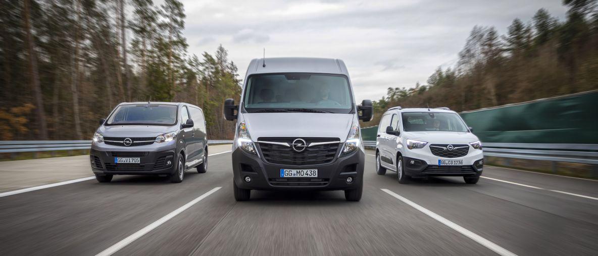 Un terzetto di successo: Opel lancia i nuovi Vivaro, Movano e Combo