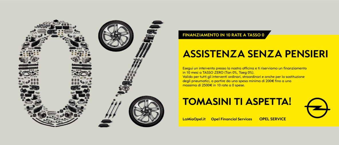 TOMASINI TASSO 0 OPEL