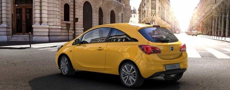 Opel Corsa Lacatena Massafra Matera giallo