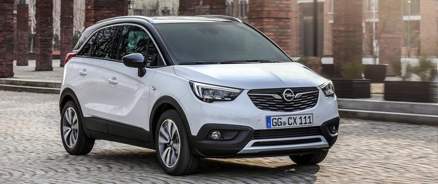 Opel Galvauto Crossland X