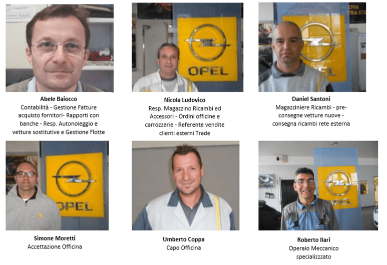 Opel Almauto Staff