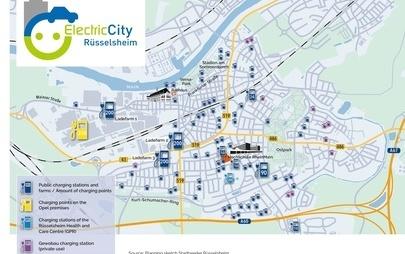 "Rüsselsheim diventerà ""città elettrica"": la località sede di Opel avrà la più alta concentrazione di stazioni di ricarica nell'Unione Europea"