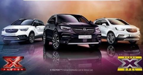 Opel ti porta a X Factor con la Gamma X