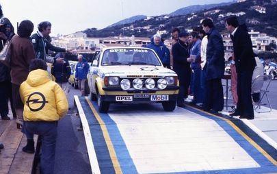 Opel: gli anni dei rally