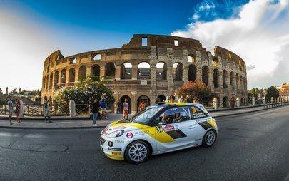 I piloti junior Opel dimostrano tutto il loro potenziale a Roma