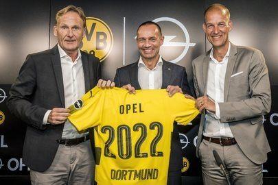 Opel e Borussia prolungano il contratto di collaborazione