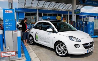Le Opel GPL in forte crescita in Italia