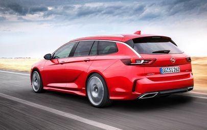 Aggressiva e potente, Opel Insignia GSi Sports Tourer