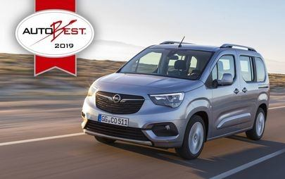 "AUTOBEST: Opel Combo Life è ""Best Buy Car of Europe 2019"""