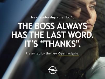 """""""Il futuro appartiene a tutti"""": Opel presenta il nuovo slogan del marchio, il logo rinnovato e la nuova campagna di Insignia con Jürgen Klopp"""