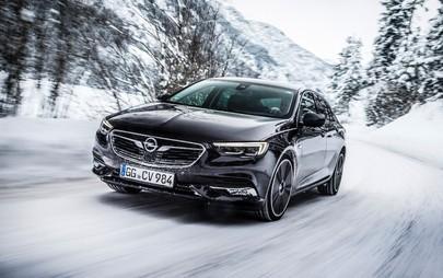 Nuova Opel Insignia Grand Sport: il gelo dell'inverno non fa più paura