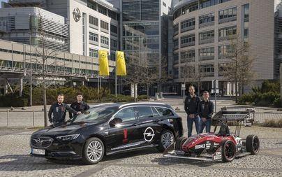 Al via la nuova stagione: i team di Formula Student ricevono le Opel Insignia Sports Tourer