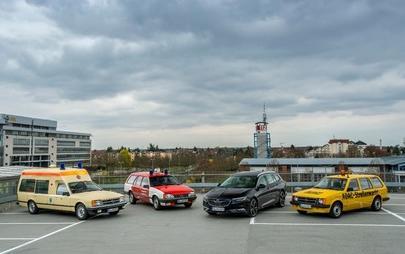 Semplicemente fantastiche: le berline e le decappottabili Opel sono le protagoniste del rally dell'Assia-Turingia riservato alle auto classiche