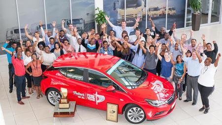 Prosegue la scia vincente: Opel Astra è Auto dell'Anno anche in Sud Africa