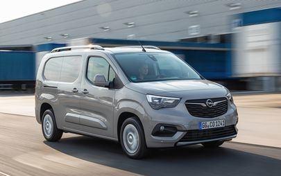 Grande successo: + 35% per i veicoli commerciali Opel in Europa nel primo trimestre