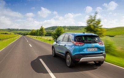 Opel Crossland X: adesso con trasmissione automatica a 6 velocità per il motore benzina top di gamma