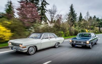 Dalla Kapitän alla Admiral: le ammiraglie Opel alla Bodensee Klassik
