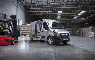 La nuova gamma di veicoli commerciali Opel.