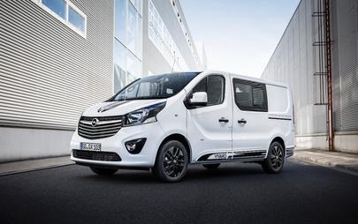 È ora possibile ordinare il nuovo Opel Vivaro Sport