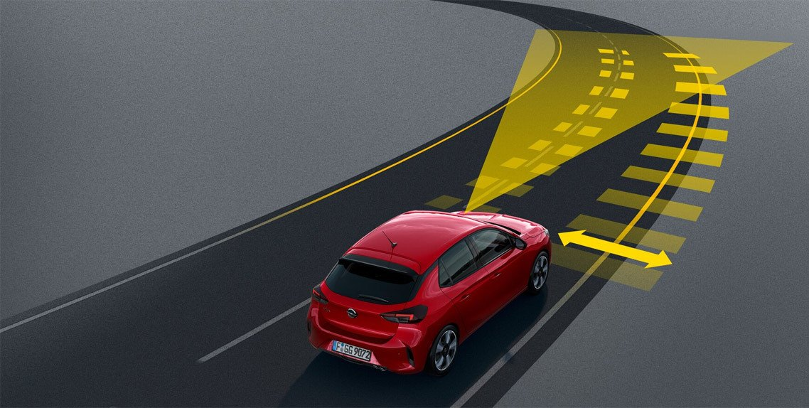 ACTIVE LANE POSITIONING