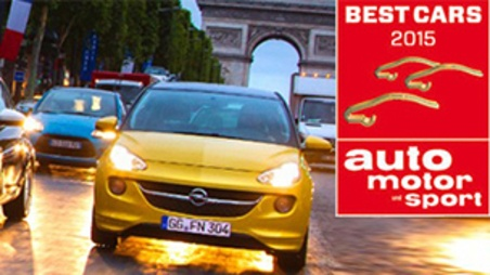 Opel Adam in Auto Motor und Sport